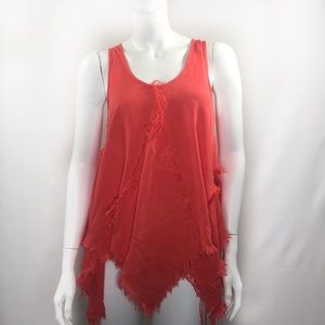 Altar'd State Size Small Asymmetrical Tank Top